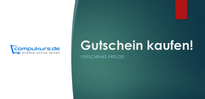 Compukurs-Gutschein